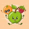 انفجار حلوى الفاكهة – Esra'a Odeh